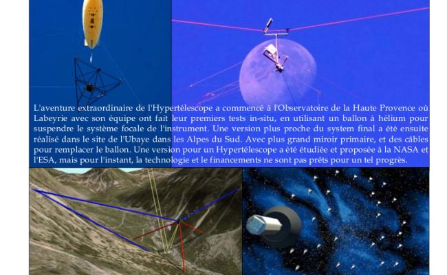 2 – Antoine Labeyrie et l'Interférométrie – Hypertélescope