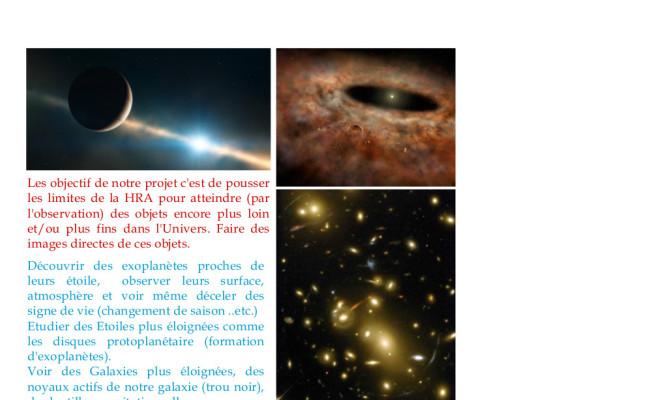 3 – le projet de l'Hypertélescope