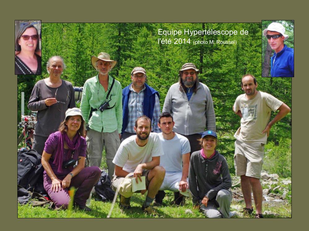 6 - Equipe 2014 de l'Hypertélescope