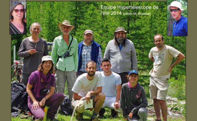 6 – Equipe 2014 de l'Hypertélescope