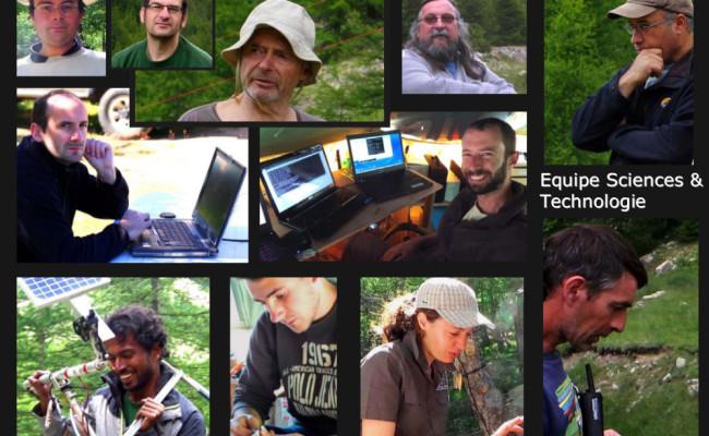 8 – L'équipe scientifique et technique