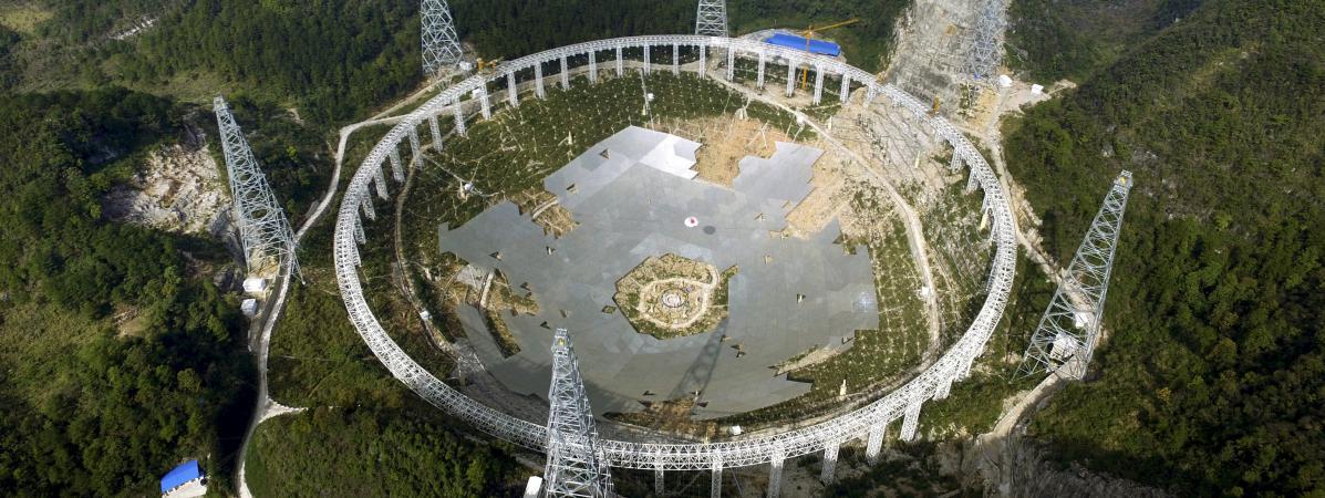 Radio télescope FAST-02-2016